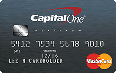 CapitalOne credit card