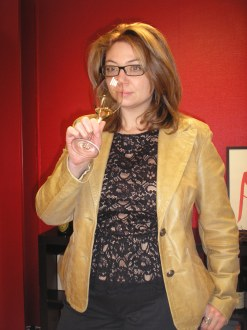 Marie-Anne Louvet speaker at IWINETC 2015