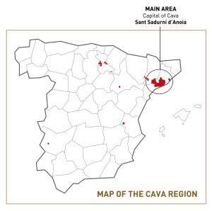 Cava producers regions of Spain IWINETC