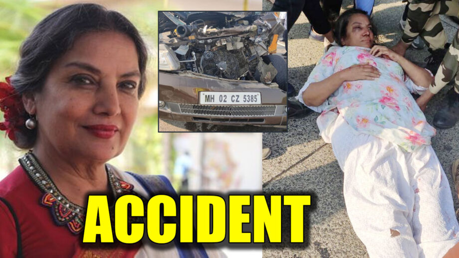 Shabana Azmi Car Accident In Mumbai