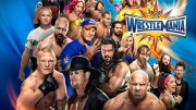 WWE wrestlemania 33 stage design rollercoaster pictures