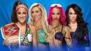 WWE Wrestlemania 33 Predictions - Bayley vs Sasha Banks vs Charlotte Flair vs Nia Jax