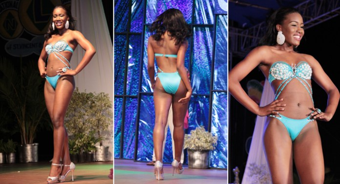 Best Swimwear: Miss Dominica Francine Baron. (Photos: IWN/Zavique Morris)