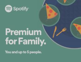 Fuente: nueva cuenta familiar de Spotify