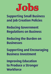 Jobs - Supporting Small Businesses and Job Creation Policies