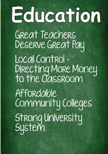 Education - Great Teachers Deserve Great Pay