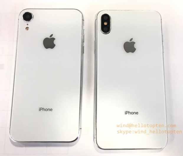 Раскрыты характеристики «бюджетного» iPhone (2018)