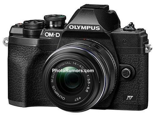 Появились первые изображения камеры Olympus E-M10 Mark IV