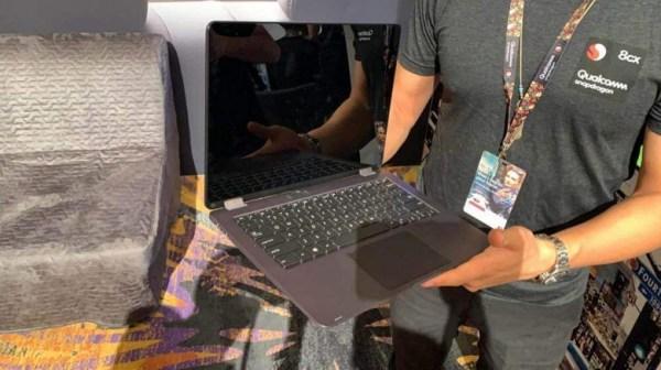 Ноутбук Asus Primus, построенный на SoC Snapdragon 8cx и ...