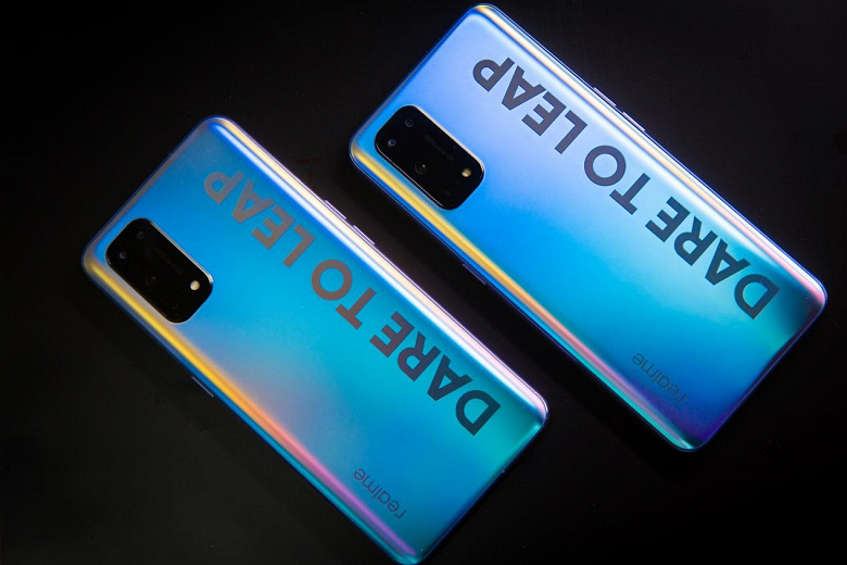Фотогалерея флагманских смартфонов Realme X7 и Realme X7 Pro
