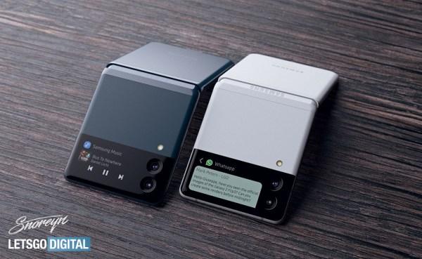 Samsung Galaxy Z Flip 3 показали во всей красе ...