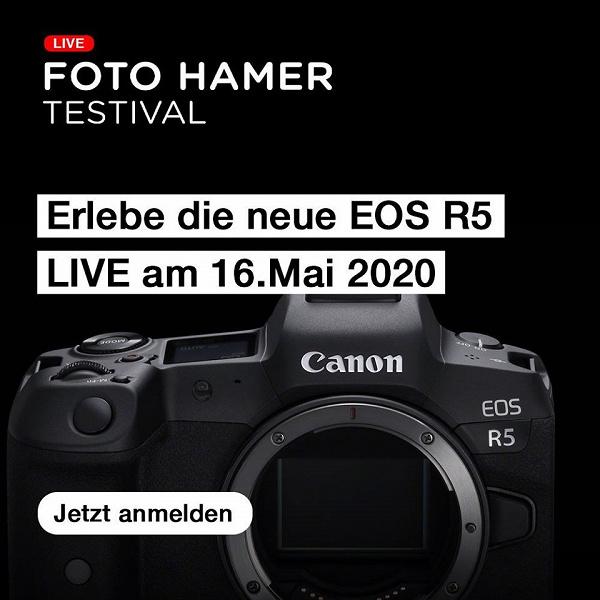 Названа дата выпуска камеры Canon EOS R5