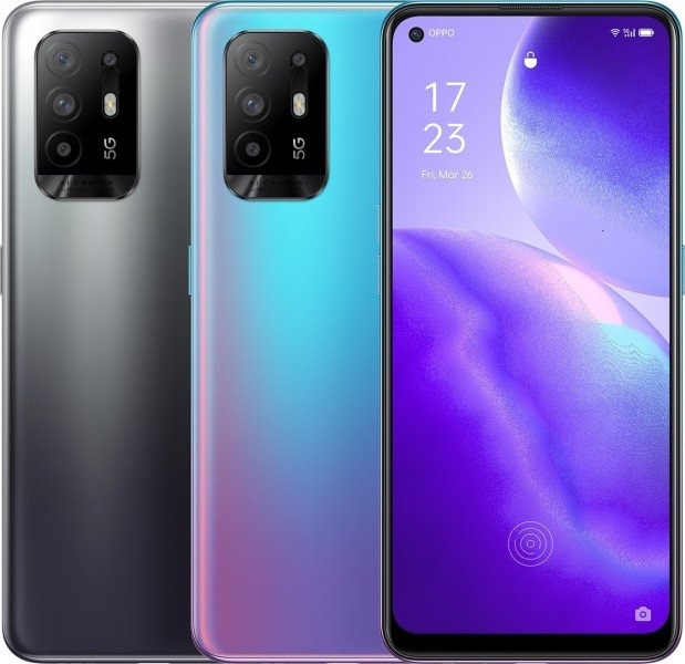 Dimensity 800U, 8/128 ГБ, NFC, ColorOS 11.1. Представлен смартфон Oppo Reno5 Z 5G