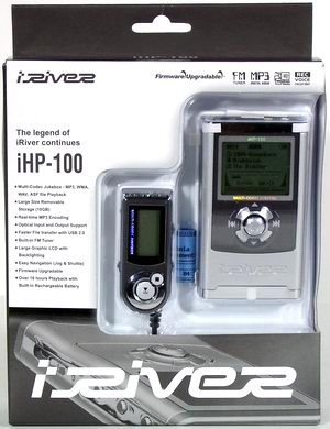 Jukebox iHP-100 от компании iRiver