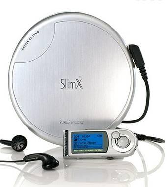 iMP-550: новый CD/MP3 плеер серии Slim-X от iRiver