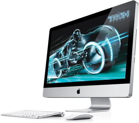 Apple представляет новые iMac с Thunderbolt
