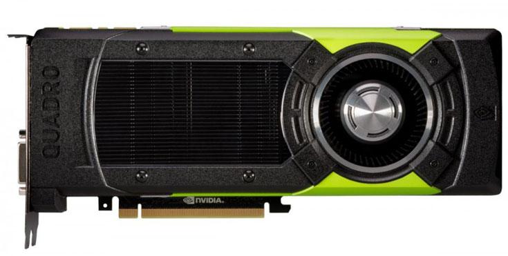 Анонс новых 3D-карт Nvidia Quadro ожидается на мероприятии SIGGRAPH 2015 в первой половине августа