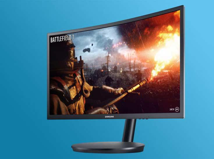 Названы цены на игровые мониторы Samsung CFG70 и CF791 с вогнутыми экранами на квантовых точках
