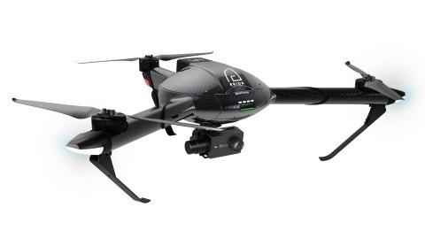 Трикоптер Yi Erida с камерой разрешением 4К развивает скорость 75 км/ч и может находиться в воздухе более 40 минут