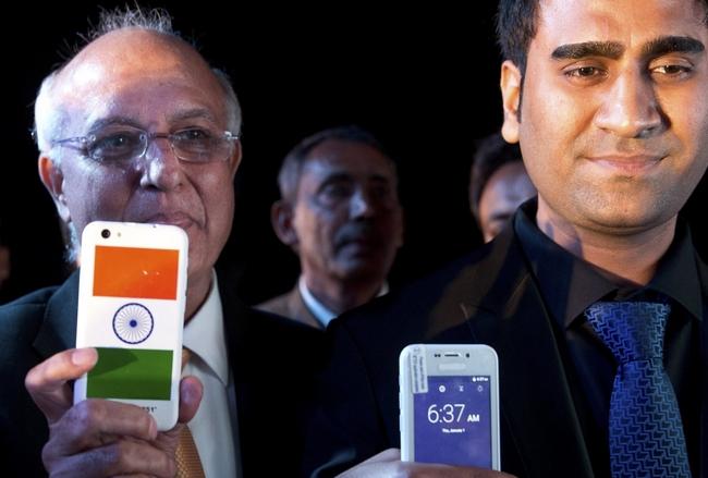30 июня в Индии продадут 200 тыс. смартфонов Freedom 251, которые оценены в $4