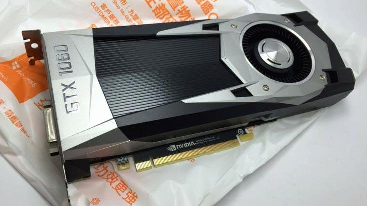 По предварительным сведениям, конфигурация Nvidia GeForce GTX 1060 включает 1280 ядер CUDA и 3 ГБ или 6 ГБ памяти