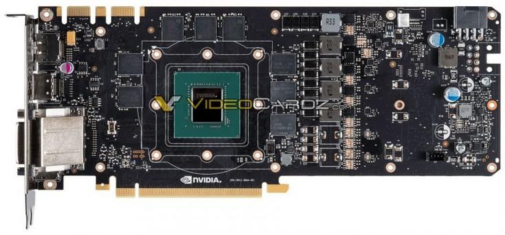 Появились фото печатной платы видеокарты GeForce GTX 1070