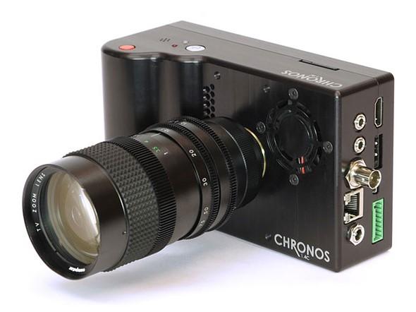 Камера Chronos 1.4 способна снимать со скоростью до 21600 к/с