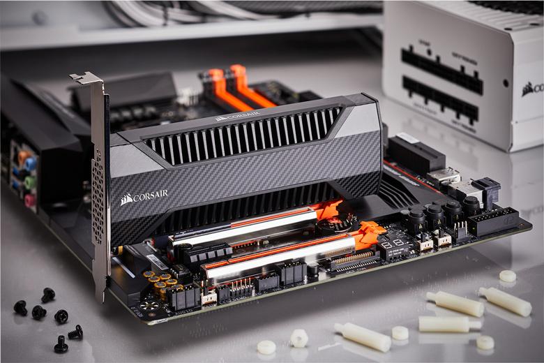 Накопители Corsair Neutron NX500 выполнены в виде карт расширения с интерфейсом PCIe 3.0 x4