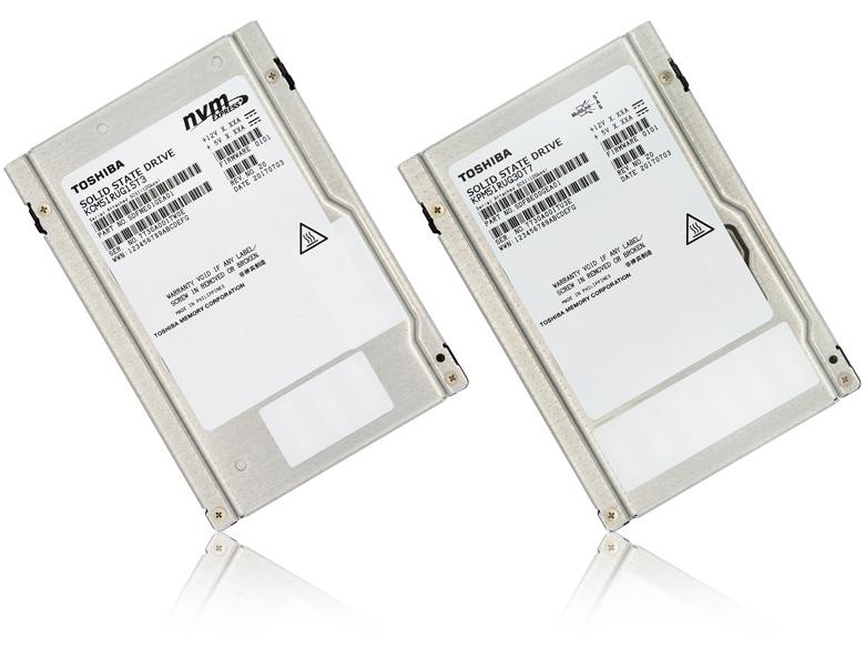 Накопители PM5 и CM5 оснащены интерфейсами SAS и PCIe соответственно