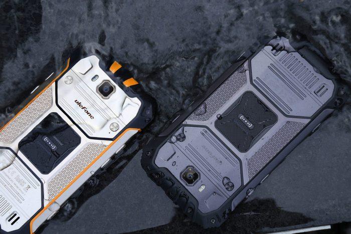 Смартфон Ulefone Armor 2, оснащенный 6 ГБ ОЗУ и аккумулятором емкостью 4700 мА•ч, работает при температуре от -40 до 80 °С