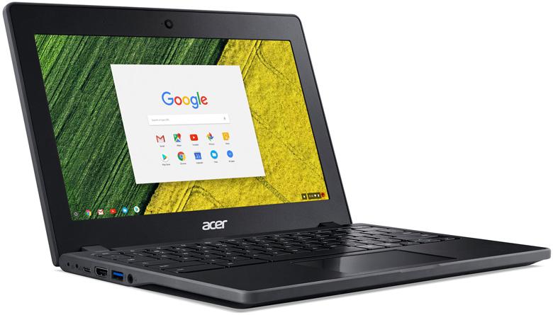 Время автономной работы хромбука Acer Chromebook 11 заявлено равным 13 ч