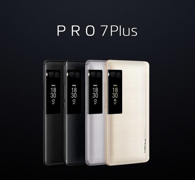Meizu Pro 7 и Pro 7 Plus представлены официально