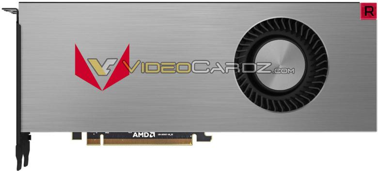 Изображений варианта AMD Radeon RX Vega 64 Liquid Edition пока нет
