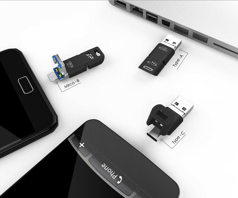 Накопитель Mobile C50 выпускается объемом 32, 64 и 128 ГБ