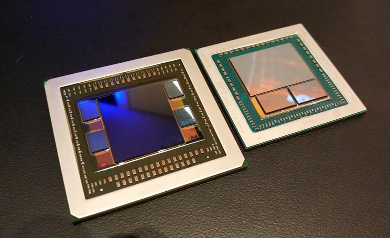 Основой 3D-карт AMD Radeon RX Vega 64 Liquid Cooled Edition, RX Vega 64 и RX Vega 56 стала графическая архитектура нового поколения