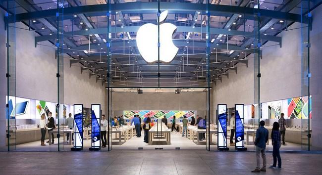 Apple возглавила список компаний с самыми прибыльными розничными магазинами