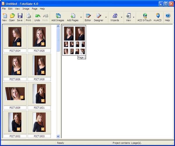 Подготовка цифровых фотографий к печати в программе ACD ...