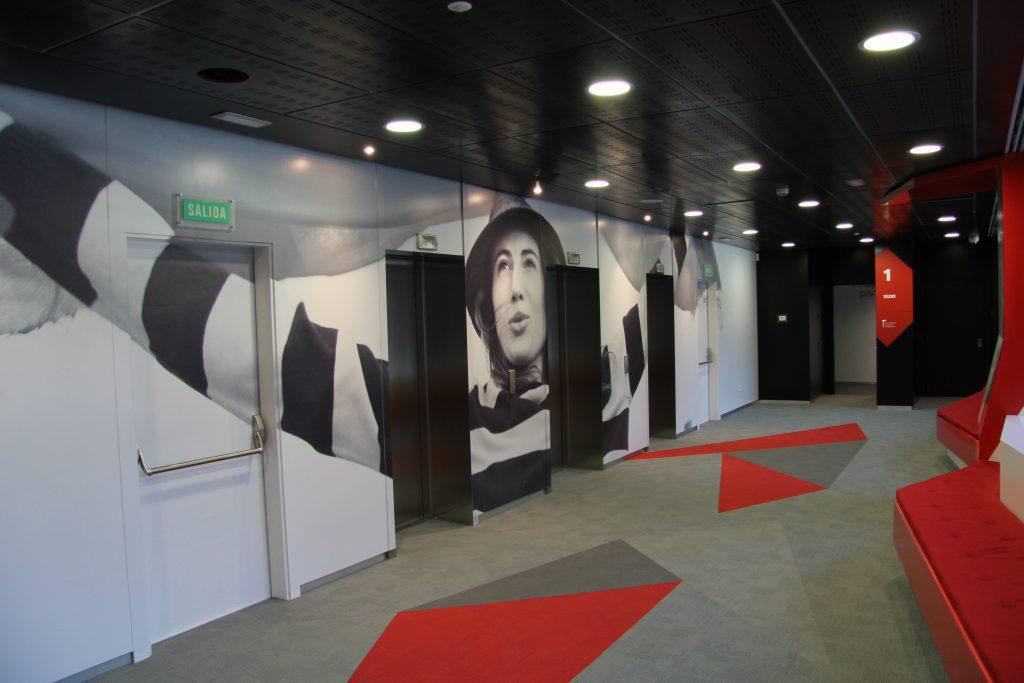 obra oficinas Vodafone