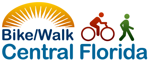 Bike/Walk Central Florida advocates for bike pedestrian safety trails and complete streets