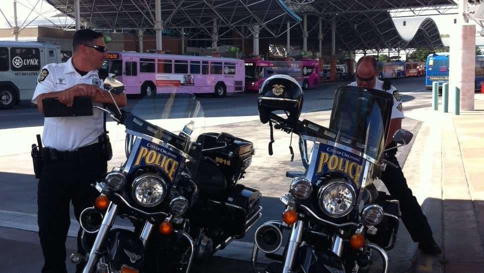 OPD Warns Walkers Of Ped Laws In Time For SunRail