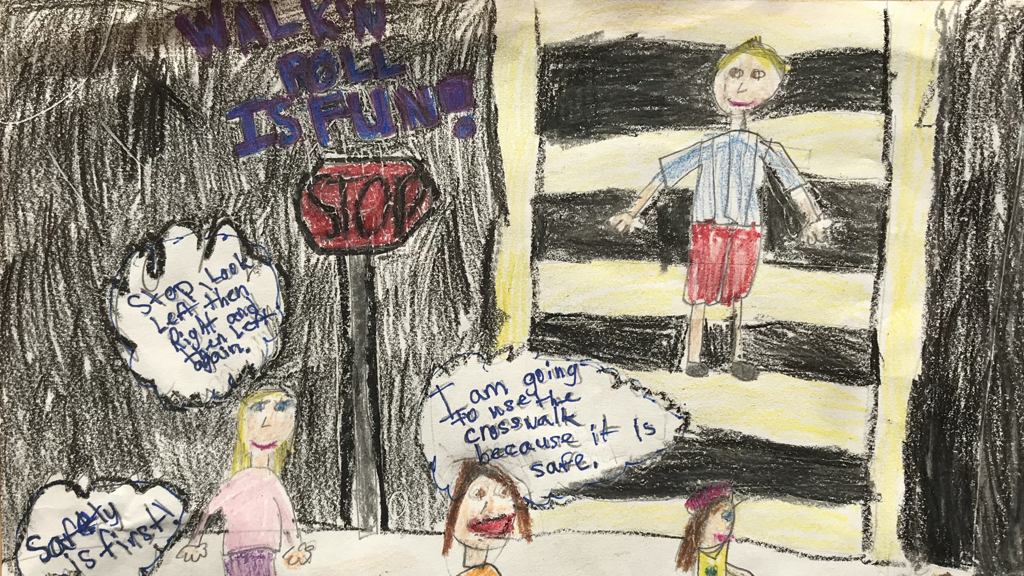Dommerich Students Winning At Safety, Sweep Statewide Poster Contest