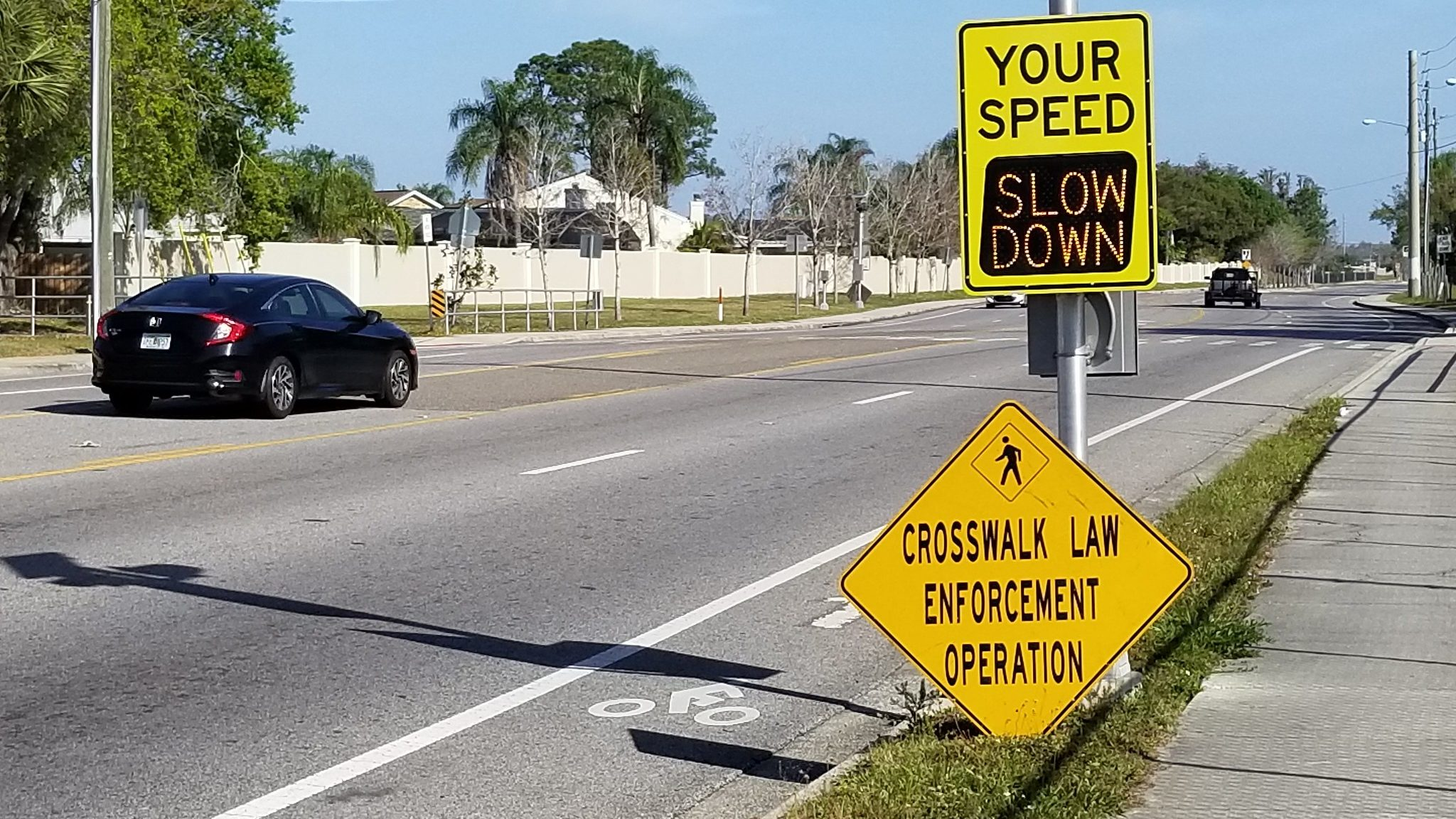 Media Advisory: Local Law Enforcement Conducts Crosswalk Crackdown As More Drivers Get Back On The Road