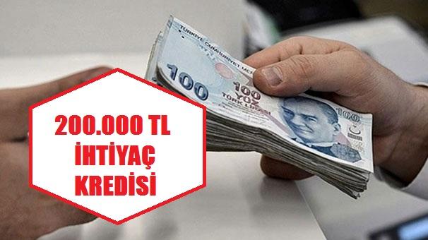 200.000 TL İhtiyaç Kredisi Başvurusu Nasıl Yapılır? (Detaylı Anlatım)