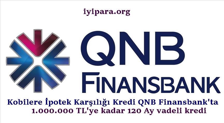Kobilere İpotek Karşılığı Kredi QNB Finansbank'ta (1 Milyon TL)