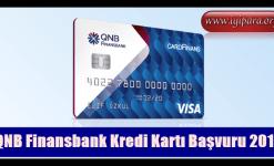 QNB Finansbank Kredi Kartı Başvuru 2019 (SMS)