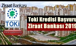 Ziraat Bankası TOKİ Kredisi 2019