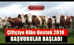 Çiftçiye Hibe Destek 2019 (Müjde Verildi)