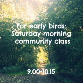 Early morning class on Saturday » iYoga Utrecht