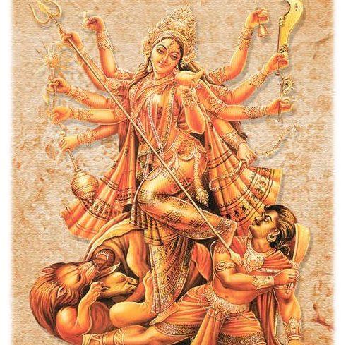 Deusa Durga Puja
