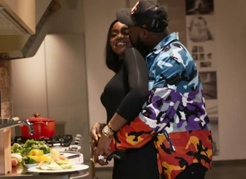 Image result wey dey for davdo with chefchi on wonder woman